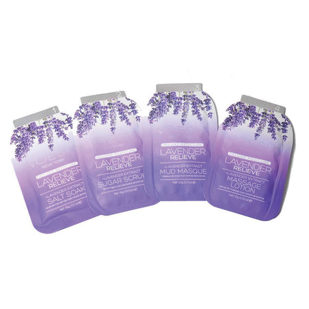 Pedi in a Box - Lavender Relieve (4 trin)
