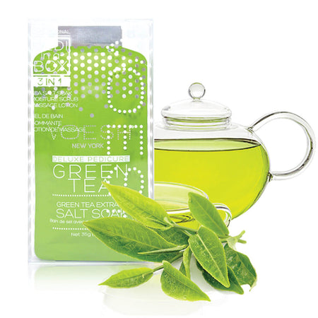 Pedi in a Box - Green Tea Detox (4 trin)