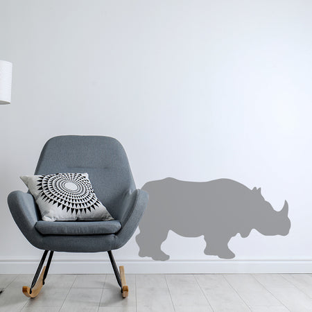Næsehorn - Safaridyr wallstickers