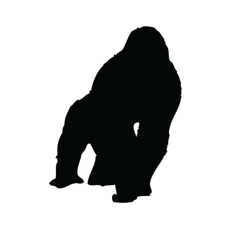Gorilla - Safaridyr wallstickers