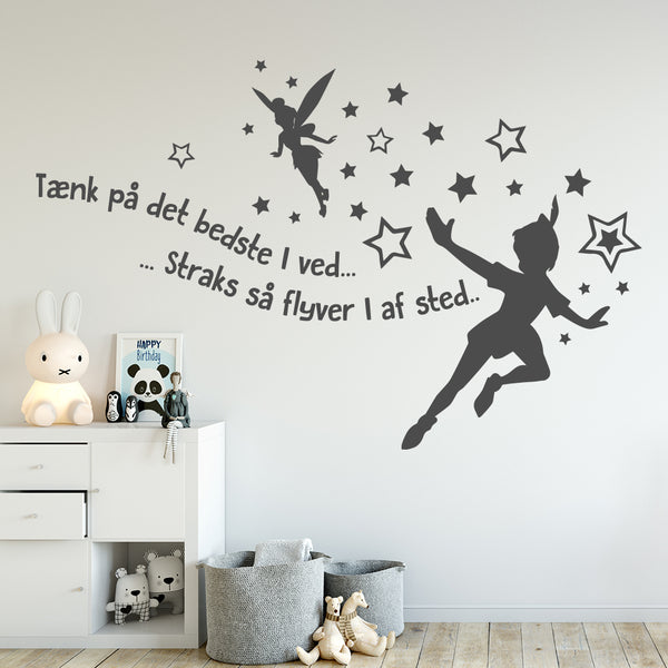 Peter Pan wallsticker