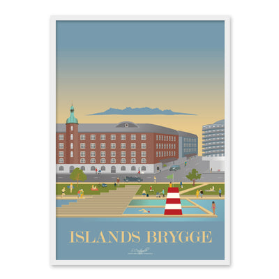 Islands Brygge plakat