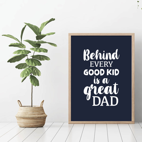 Great father - plakat