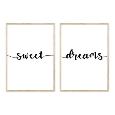 Sweet Dreams - plakat sampak