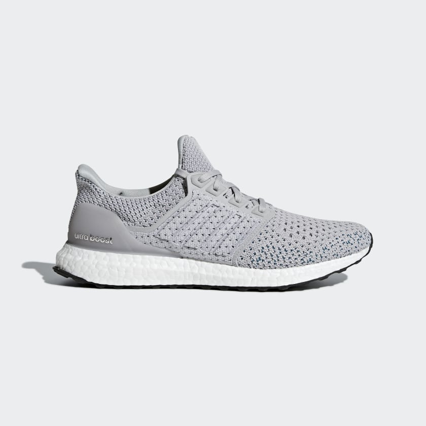 d385d12a11795d Adidas UltraBoost 4.0 Clima Grey Real Teal Men s Shoes – Shoes Mart ...