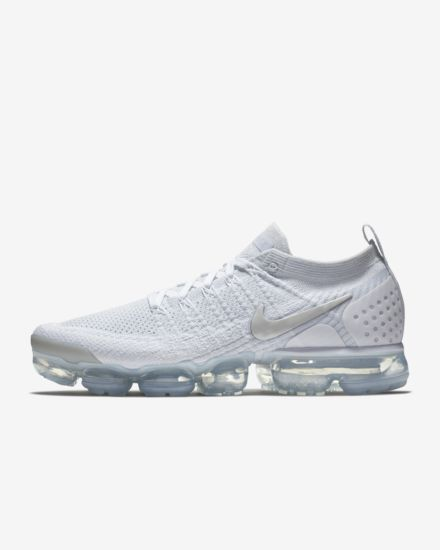 Nike Air Vapormax FLYKNIT 2 White Grey White Shoes – Shoes Mart Store 3284700c3