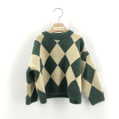 The Carson Knit, Green