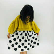 Load image into Gallery viewer, The Olivia Polka Dot Dress, Yellow