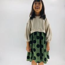 Load image into Gallery viewer, The Olivia Polka Dot Dress, Green