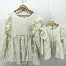 Load image into Gallery viewer, The Adelaide matching-with-mom Blouse, Ivory white
