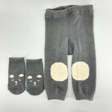 Load image into Gallery viewer, Grey Bear Leggings and Socks