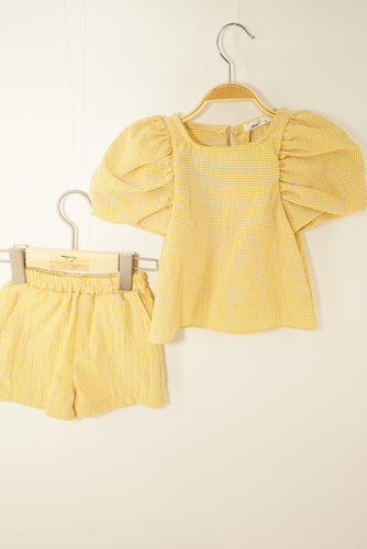The Melody set by Mori (mustard yellow)
