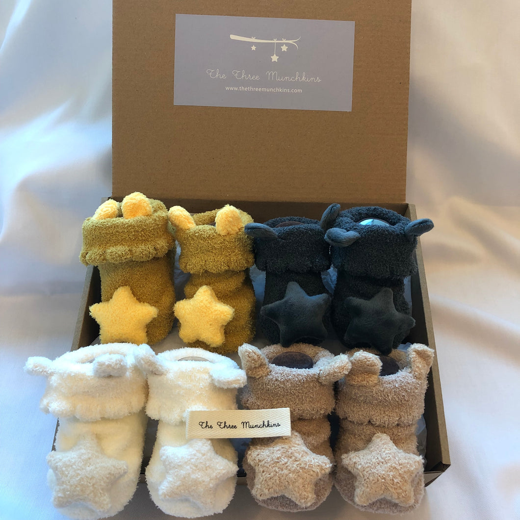 Fluffy Stars Gift Set (set of 4)