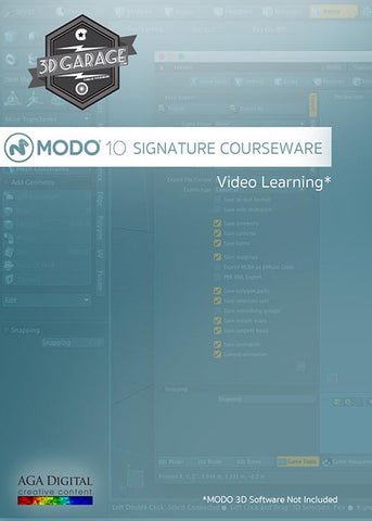 MODO 10 Signature Courseware