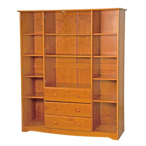 Family Wardrobe honey pine