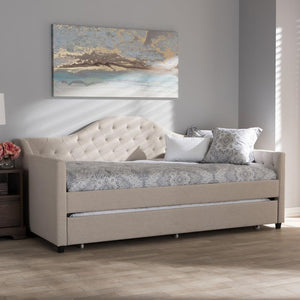 Light beige modern and contemporary daybed
