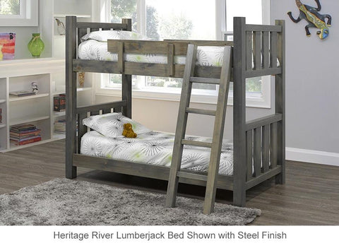 pine bunk bed made in canada