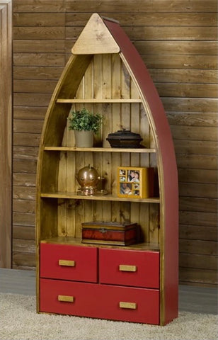 canoe shelf with drawers canada canoe bookshelf