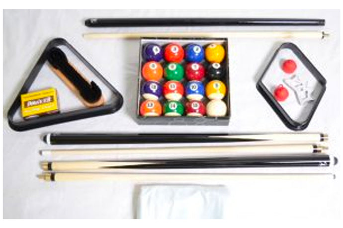 2 Cue Econo Pool Table Kit
