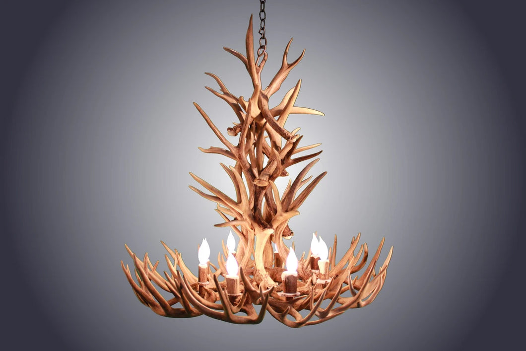 Antler Chandelier - 8 Light XL Whitetail