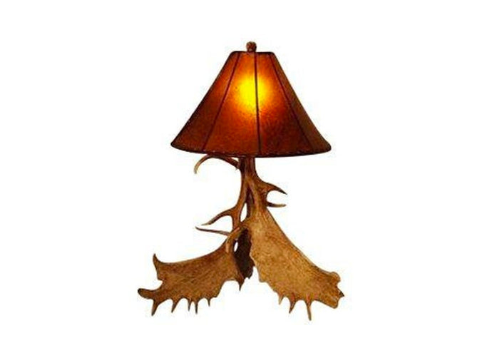 Antler Lamp - Three Antler Fallow Lamp