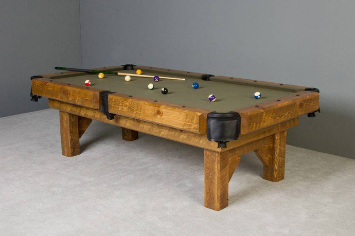 Barnwood Timber Lodge Pool Table