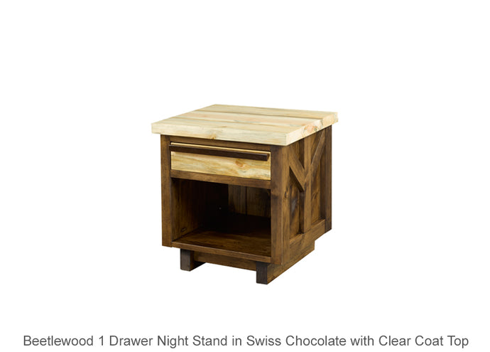 Beetlewood 1 Drawer Night Stand