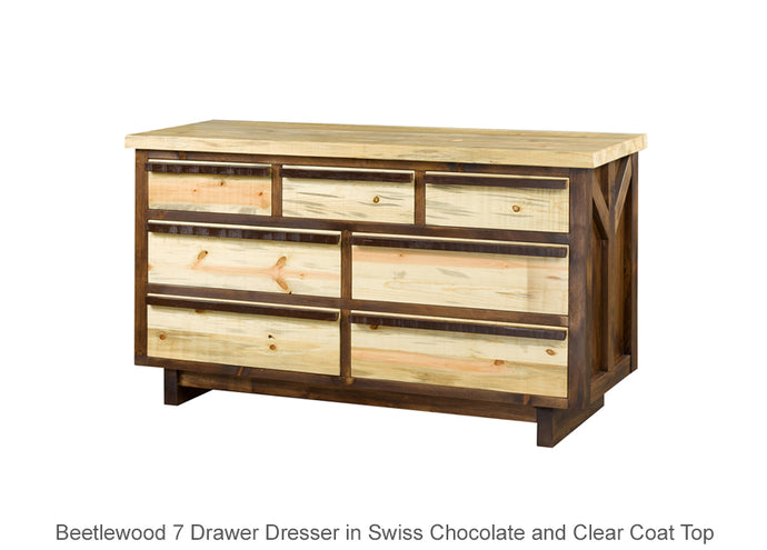 Beetlewood 7 Drawer Dresser