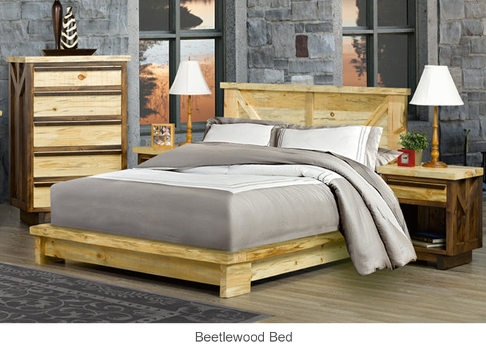 Beetlewood Bed for Cottage or Cabin