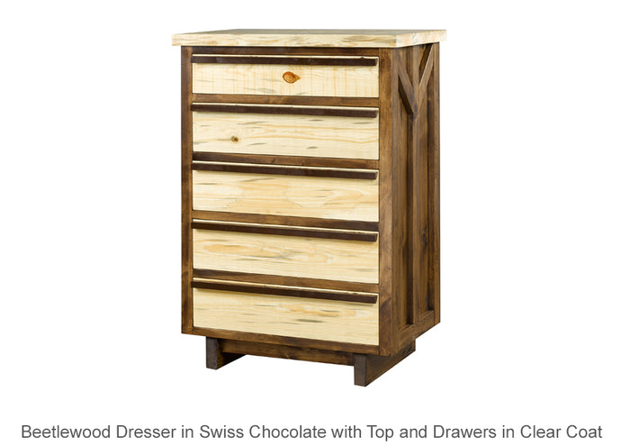 Beetlewood 5 Drawer Dresser