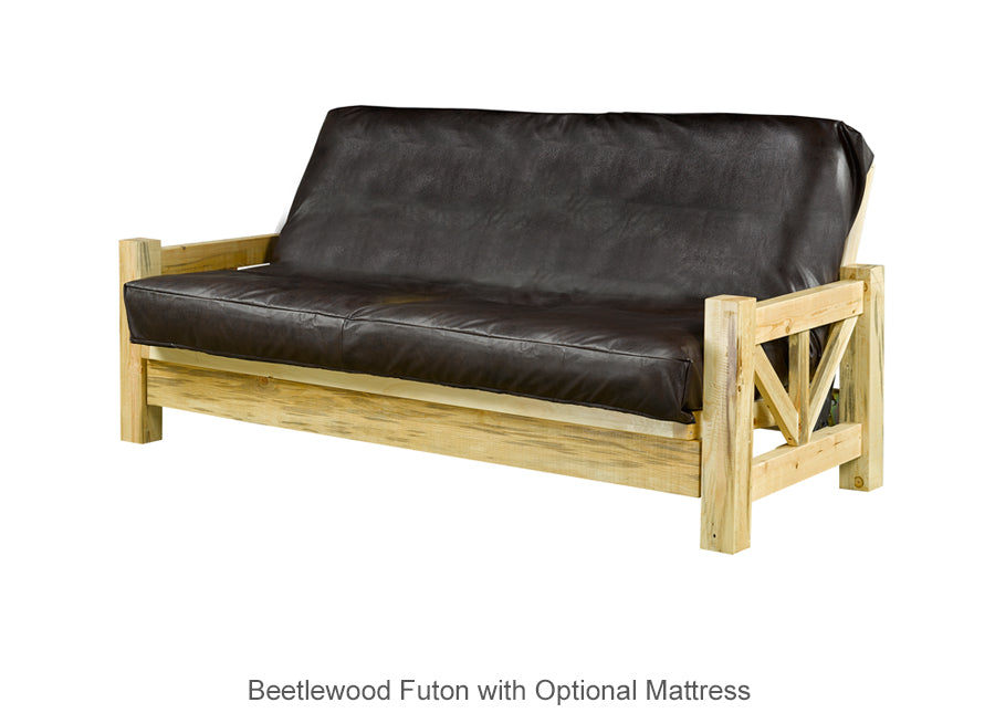 Beetlewood Futon with Optional Mattress