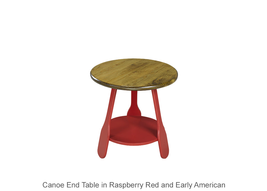 Canoe End Table