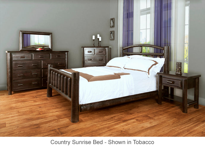 Country Sunrise Bed collection for country home