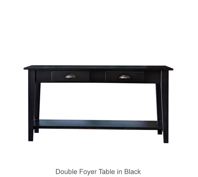 Double Foyer Table