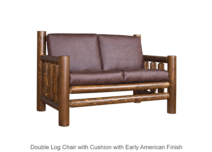 Double Log Chair with Cushion