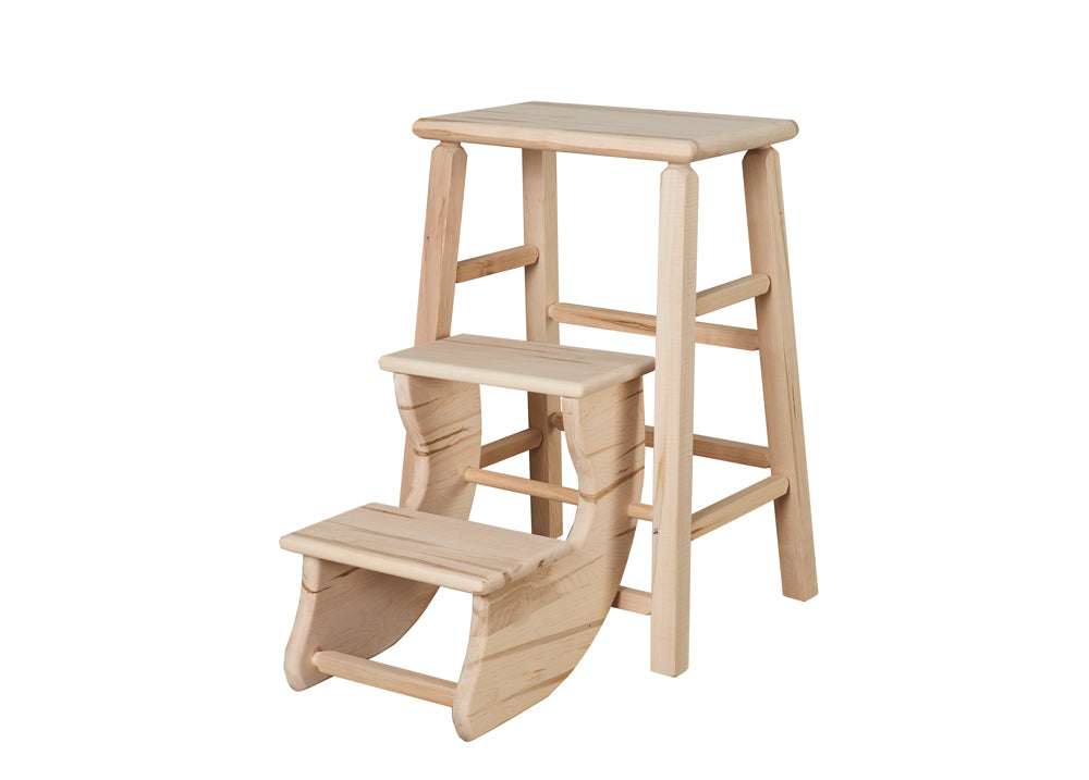 Folding Step Stool with Square Legs