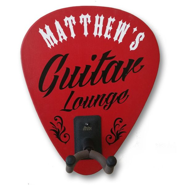 Guitar Holder Sign