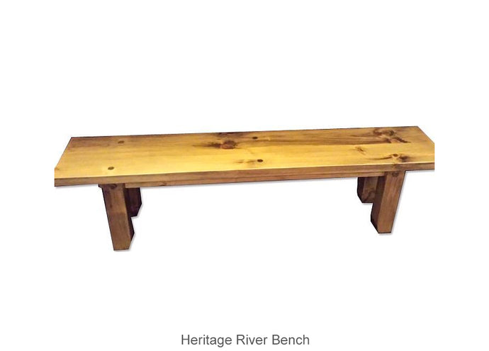 Heritage River Bench