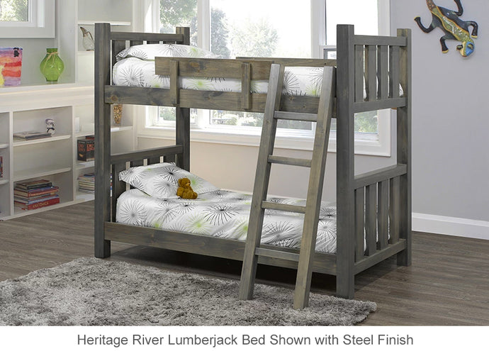 Heritage River Lumberjack Bunk Bed is great for kids and adults