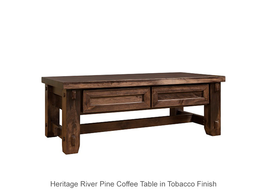 Heritage River Pine Coffee Table