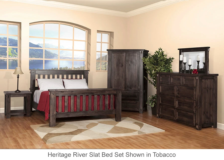 Heritage River Slat Bed for home or cottage