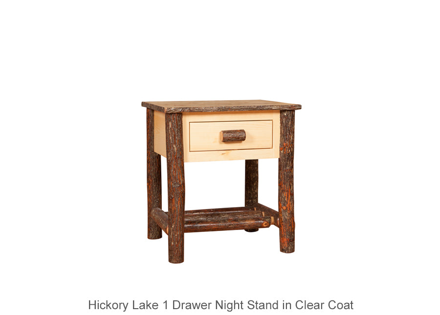 Hickory Lake 1 Drawer Night Stand