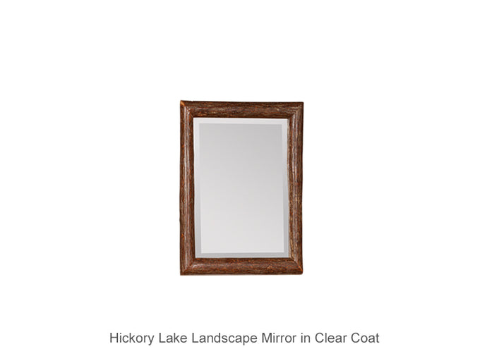Hickory Lake Landscape Mirror