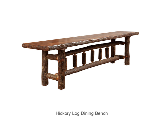 Hickory Dining Bench