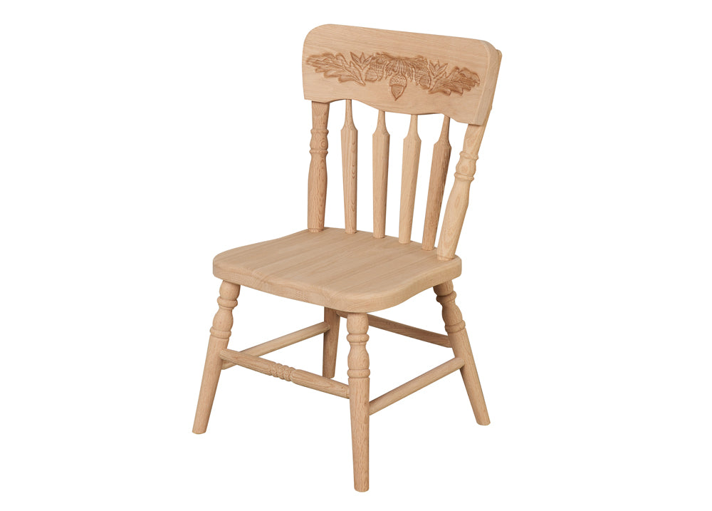 Kid's Acorn Pressback Chair