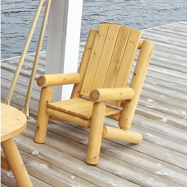 Kid's Log Muskoka Chair