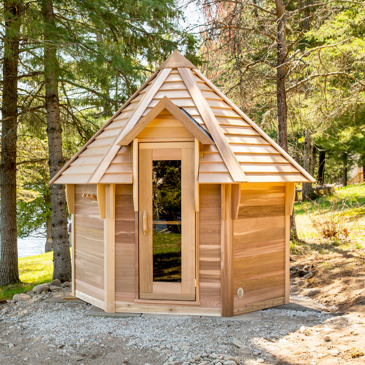 Kota Sauna is perfect for large families