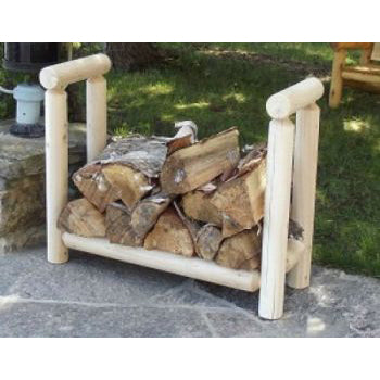 Log Firewood Rack