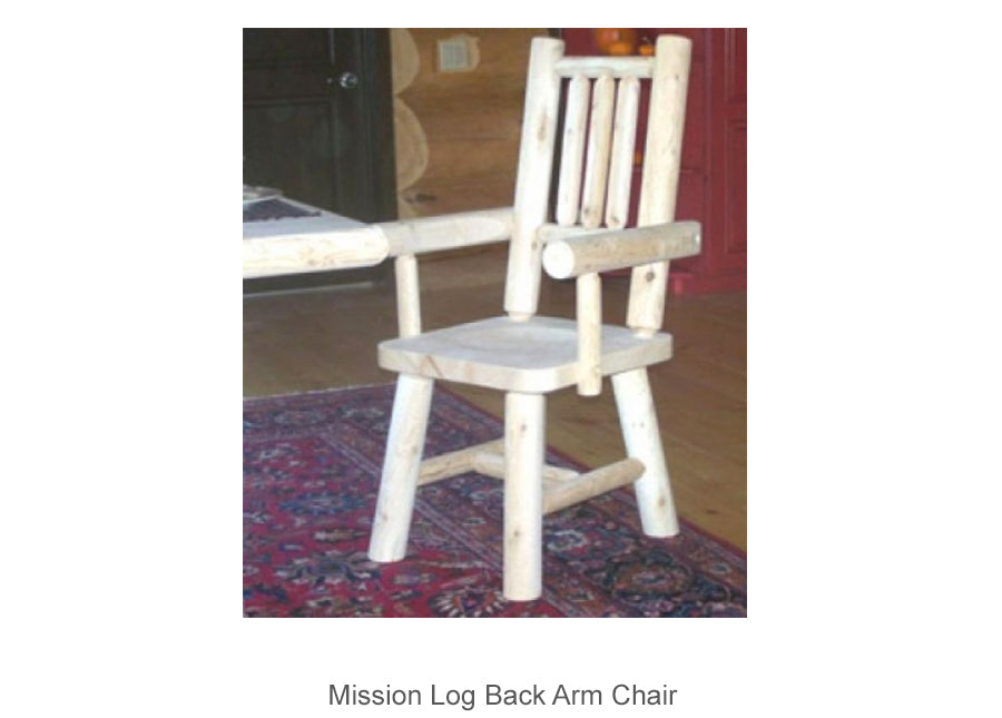 Mission Log Back Arm Chair