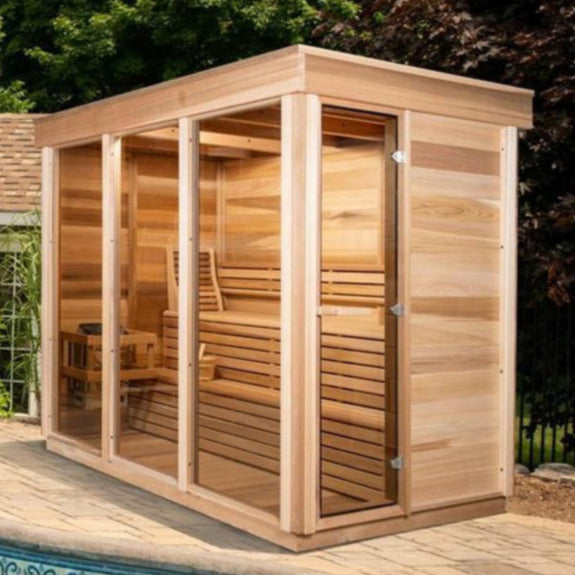 Modern Box OUTDOOR Sauna - Large